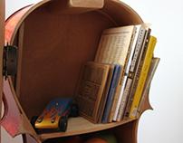 Cello Bookcase