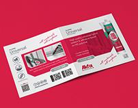 Bifold - half fold brochure