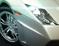 Lamborghini Gallardor LP Spyder - 3D modeling