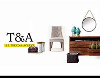 T&A, social media branding