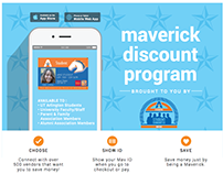 Maverick Discount Program Flyer