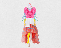 Fashion Collage - Delpozo