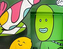 Brosmind: Barcelona Mural