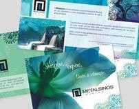 Folder Linha Fashion e Painel