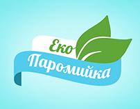 Ecoparomoyka website design and logo redesign