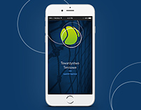 Mobile version of web-application for Tennis Club