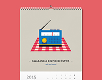 Illustrated calendar