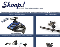 "Add for helmet/bike cam - Magazine ""Aktiv Træning"" 2013"