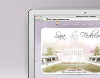 Sara & Federico            Wedding website