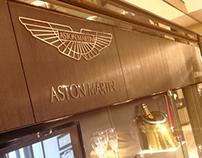 Aston Martin Silverware, Harrods