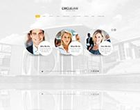 CircleLaw, WordPress Lawyers Businesses Theme