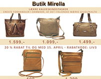 Magazine add for Handbags - Benjamin Media - 2013
