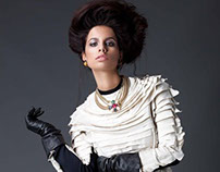 LOOK ALIVE for En-Vie Magazine Jan 2013