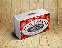 Product Packaging Design - Red Tomato Soap