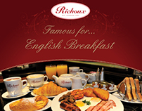 Richoux Breakfast Poster