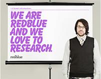 Redblue Research Brand Identity