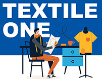 WEB ILLUSTRATIONS - TEXTILE ONE