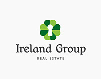Ireland Group Real Estate Logo Design