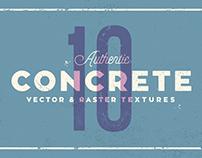 10 Concrete Textures - Texture Pack