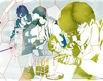 """Editorial illustration for the online magazine """"merton"""""""