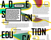 A DESIGN EDUCATION MANIFESTO