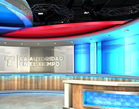 Telemundo Virtual Weather Set