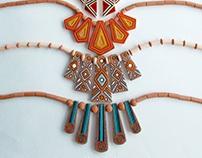 ceramic necklases