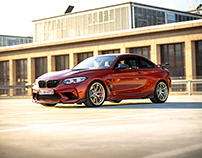 BMW M2 Competition with M Performance Parts (F87)