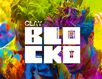 Brand Identity Design: Clay Blocko Party