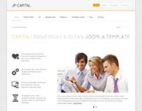 JP-Capital, Joomla Minimalistic Business Template