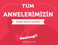 Anneler Günü Poster / Mother's Day Poster