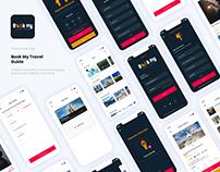 Ui Design Book My Travel Guide App Design