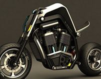 V-TRON : Motorcycle for the near future