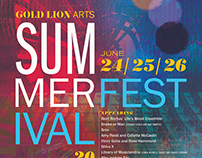 Gold Lion Summer Arts Festival