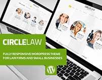 CircleLaw - For Lawyers & Businesses Wordpress Template