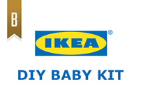 Young Glory Round 07: IKEA DIY Baby Kit