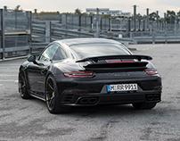 HRE P101 - Porsche 911 Turbo S - CGI