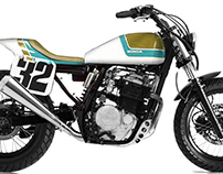 Honda XL 600 Project
