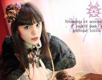 fashion design I (gothic lolita)