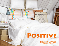 'Positive' Bedlinen Pattern Design Project