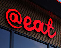 @ Eat - All you can eat restaurant // Brand Identity