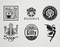 18 illustrative logos
