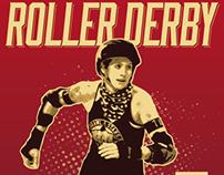 Roller Derby Poster 4.27.13