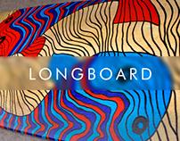 Handmade Longboard Graphics