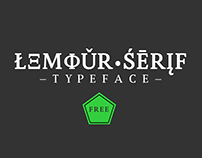 Lemour Serif (Free Font)