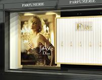 CGI Merchandising for Dior