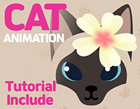 Cat Motion Graphic Tutorial with AfterEffects