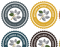 TRTA Trail Challenge Badges
