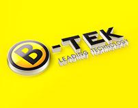 Thiết kế logo Garage B-tek