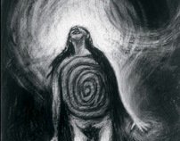 Ascension - Charcoal on Paper